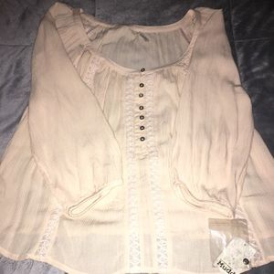 Long sleeve blouse top. NEVER WORN